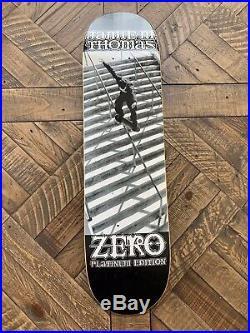Rare Zero Skateboard Jamie Thomas Smith Grind Platinum Edition