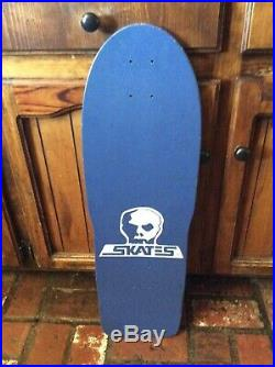 Rare nos 80s Vintage Skull Skates Skeletal 2 Skateboard