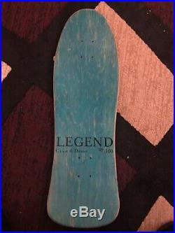 Rare world industries skateboard deck C&D Steve Rocco 3
