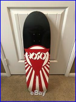 Red Kross- Black Label Skateboards Christian Hosoi Rising Sun MISPRINT Deck