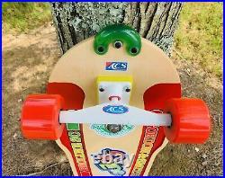 Reissue Gordon & Smith SC Skateboard ACS 900 Kryptonics Star Trac Wheels Alva