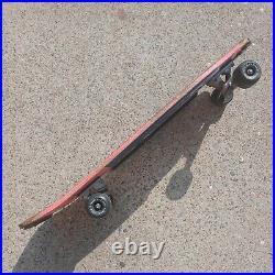 Retro 1980s Variflex Vintage DOWN TOWN Cops Robbery Skateboard Complete RARE