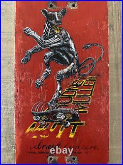 Rodney Mullen Powell Peralta Freestyle Skateboard Mutt Chess Vintage