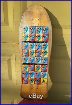 Rolling Stones Vintage Skateboard Airbourne OG 1989 USA Very Rare Collectible OG