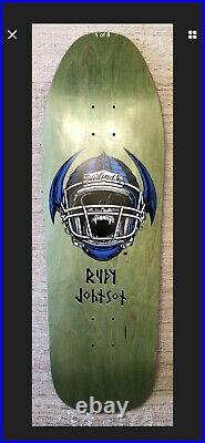 Rudy Johnson Blind Skateboard Deck Dear George Vintage Per Welinder Spoof