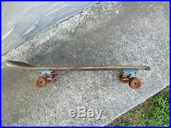 SANTA CRUZ SLASHER OJII & Independent Trucks Vintage skateboard deck rare
