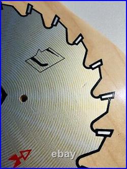 SCHMITT STIX RIPSAW OLD SCHOOL Reissue SKATEBOARD DECK 10 Nat Vision Cruz Powell