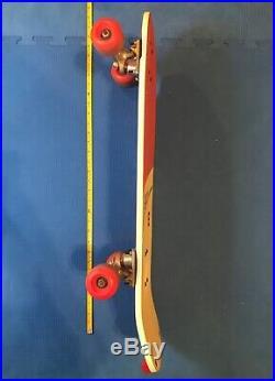 SIMS E HOSOI Skateboard +Vintage Tracker Trucks+Sims Wheels