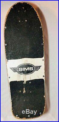 SIMS Kamikaze RARE HOLY GRAIL Vintage Skateboard 1980's Tracker Trucks AMAZING