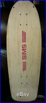SIMS Vintage Skateboard 30x10