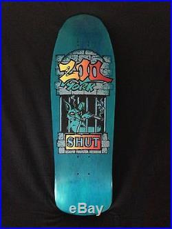 SUPER RARE! SHUT SKATES Zoo York Skateboard 1989 H-Street Powell Think Alva NYC