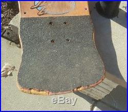 Santa Cruz Claus Grabke Melting Clocks rare vintage 80's old school skateboard
