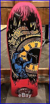 Santa Cruz Claus Grabke NOS Vintage Skateboard Deck Vtg