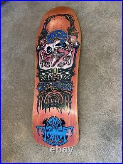 Santa Cruz Jeff Hedges Vintage NOS Original Skateboard Deck RARE