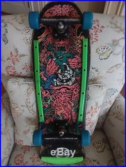 Santa Cruz Roskopp Target 5 Vintage Skateboard Deck Phillips Independent