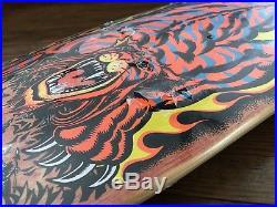 Santa Cruz Steve Alba SALBA TIGER Skateboard Deck NOS VERY RARE Still Wrapped