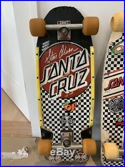 Santa Cruz Steve Olson Skateboard Gullwing Bomber Pig