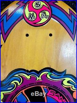 Santa Monica Airlines Original 1987 Jesse Martinez Mini Jess Skateboard