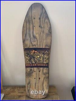 Schmitt Stix Vintage Chris Miller Skateboard G&S