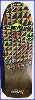 Sims Hosoi Schmitt Stix Lucero mash up Model 1986 Skateboard One of a kind Rare