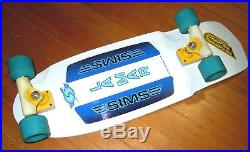 Sims LaMar pig reproduction, vintage tracker Snakes conicals, skateboard G&S alva