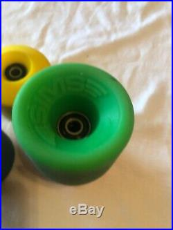 Sims Snake Conical Skateboard Wheels Mixed Set From Vintage 1979 Molds dogtown