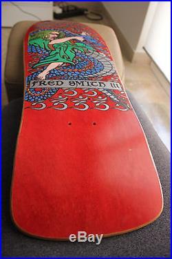 Skateboard Alva Fred Smith III. Mint, Old School! Vintage