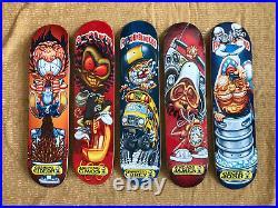 Skateboard Decks Blind 2001 Fcked Up Blind Kids Complete Set NOS Vintage
