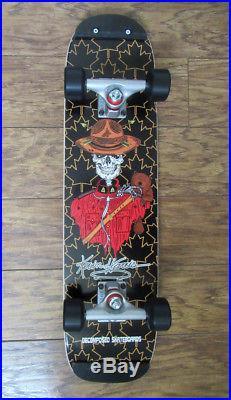 Skateboard KEVIN HARRIS decomposed complete freestyle Rodney Mullen singlekick
