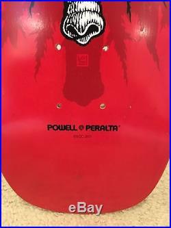 Skateboard Powell Peralta Mike Vallely Deck Prototype Original Alva Sims Cruz SM