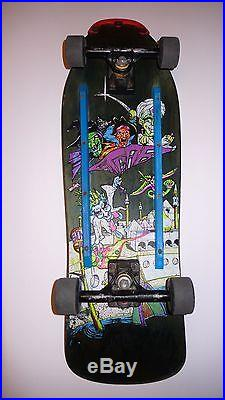 Slightly Used Sims Kevin Staab Skate Squad Mini Complete Skateboard Gullwings
