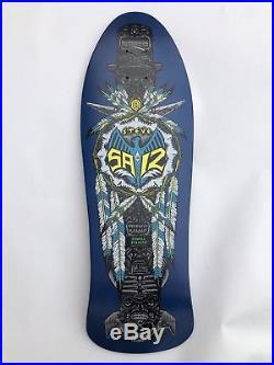 Steve Saiz powell peralta skateboard NOS vintage not reissue- vision blind santa