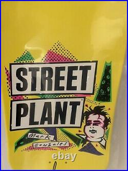 Street Plant Mark Gonzales Gonz Limited Shaped Skateboard Yellow 11.25 Mike V
