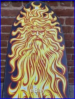 Super Rare Santa Cruz Jason Jessee Sun God Mini 1988 Vintage Skateboard