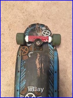 Tony Hawk 1990 Medallion Skateboard Powell Peralta vintage skateboard