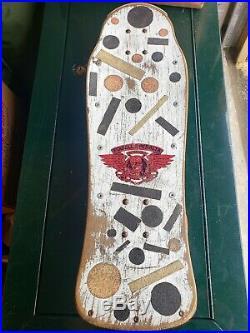 Tony Hawk Powell Peralta 1983 OG Chicken Skull Skateboard Vintage 1980s