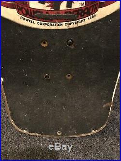 Tony Hawk Powell Peralta 1983 OG Chicken Skull Skateboard Vintage 1980s Deck