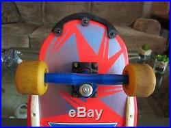 Tony Hawk Powell Peralta Signed Skateboard Pink/Blue Brand New 7 ply 1983 OJIIs
