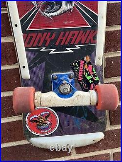 Tony Hawk Powell Peralta Xt 1983 100% Original Skateboard Signed Autographed