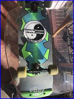 Town and Country T&C Skateboard Deck Vintage Original 1984 Street Team Oldschool