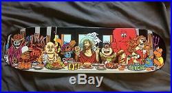 VERY RARE Collection Last Supper 8 Decks Santa Cruz, Black Label, Etc. Mint