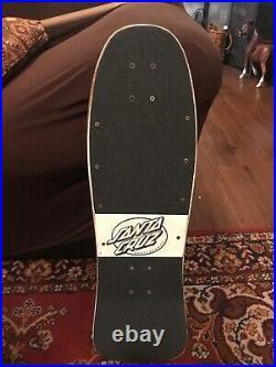 VINTAGE 1986 OG Santa Cruz Jeff Kendall Graffiti Skateboard