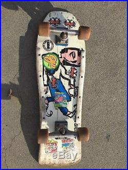 VINTAGE G&S Neil Blender Coffee Break. Rare original 80s skateboard complete