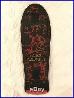 VINTAGE OG Lance Mountain Powell Peralta Skateboard Future Primitive Tony Hawk