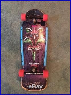 VINTAGE POWELL PERALTA TONY HAWK CLAW TRUE VINTAGE (1989 old school skateboard)
