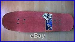 Vintage Santa Cruz Tom Knox Ever-slick Skateboard From 1990