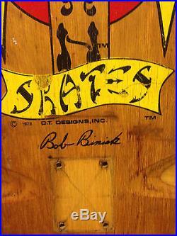 VINTAGE USED 70's DOGTOWN BOB BINIAK SKATEBOARD hosoi g&s sma alva sims powell