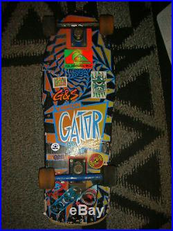 VINTAGE VISION GATOR Mark Gator Rogowski complete skateboard used