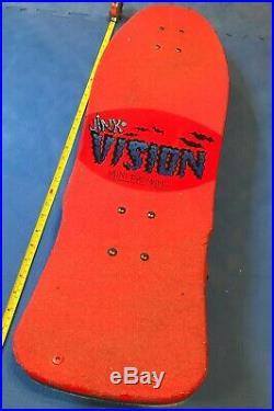 VISION Jinx skateboard+vintage Tracker trucks, Vision Bullet wheels