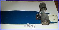 VTG 1970's G & S Fibreflex Skateboard Deck 27 Gordon Smith with wheels & trucks
